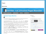 Annuaires Pages Blanches