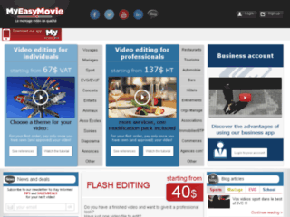 Myeasymovie: Site montage video