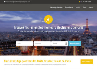 Electricien Paris Express