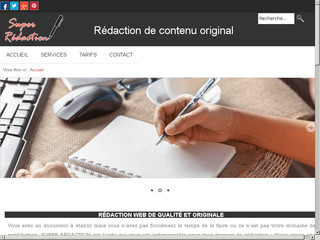 Super-redaction.com, le site de rédaction web